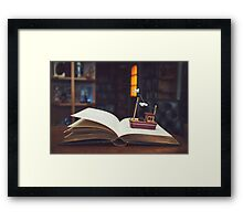 Stories from the sea... Framed Print