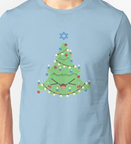 Christmukkah Tree Unisex T-Shirt