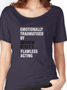 Emotionally traumatised by 03 Women's Relaxed Fit T-Shirt