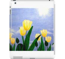 Tulips in the Sun iPad Case/Skin