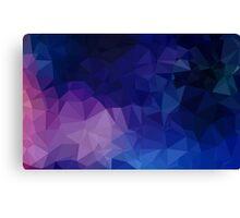 New designers Skirt edition : purple triangles Canvas Print