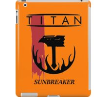 Destiny Titan Sunbreaker iPad Case/Skin