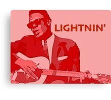 Lightnin' Hopkins Canvas Print