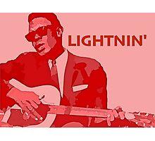 Lightnin' Hopkins Photographic Print