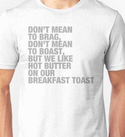 BreakfastToast Unisex T-Shirt
