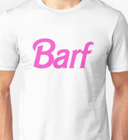 Hot Pink Barf Unisex T-Shirt