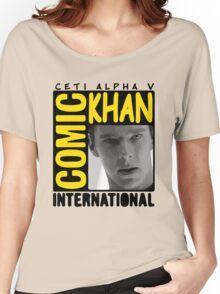 COMIC KHAN  Women's Relaxed Fit T-Shirt