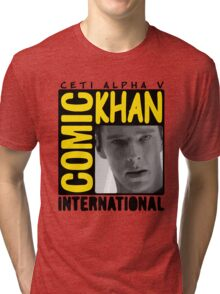 COMIC KHAN  Tri-blend T-Shirt