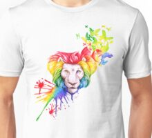 Transition - Rainbow Lion - Afalon Unisex T-Shirt