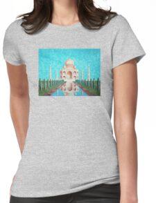Taj Mahal Womens Fitted T-Shirt