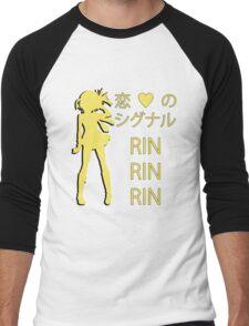 Rin Hoshizora, Koi no Signal RIN RIN RIN! Men's Baseball ¾ T-Shirt