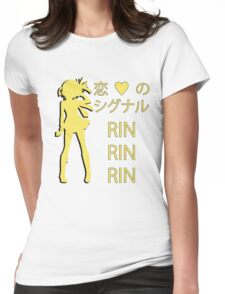 Rin Hoshizora, Koi no Signal RIN RIN RIN! Womens Fitted T-Shirt