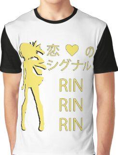 Rin Hoshizora, Koi no Signal RIN RIN RIN! Graphic T-Shirt