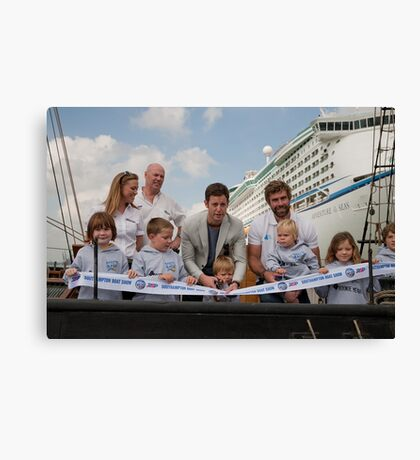 Southampton Boat Show With Matt Baker Canvas Print