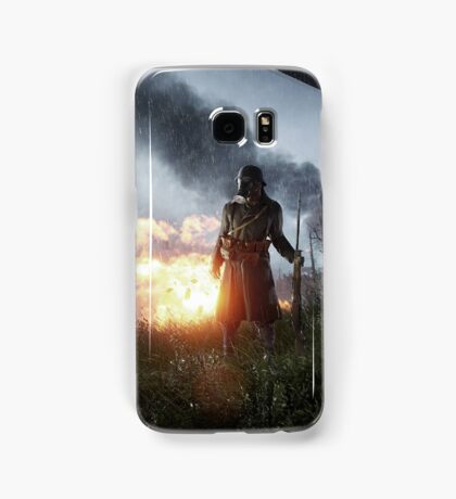 Battlefield One Gas Mask Samsung Galaxy Case/Skin