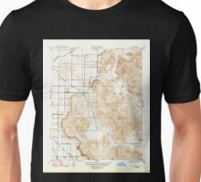 USGS TOPO Map California CA Rocky Hill 296474 1927 31680 geo Unisex T-Shirt