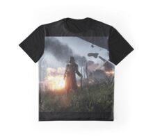 Battlefield One Gas Mask Graphic T-Shirt