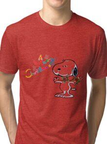 snoopy Tri-blend T-Shirt
