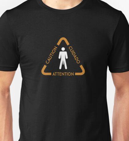 Adult Humor Hung Warning  Unisex T-Shirt