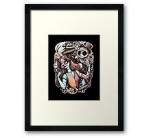 Dia De Los Pesadillas Framed Print
