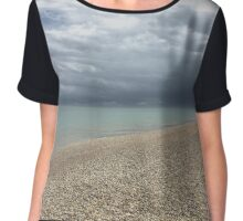 Summer Storms in Deal Chiffon Top