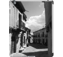 Las calles de Pedraza iPad Case/Skin