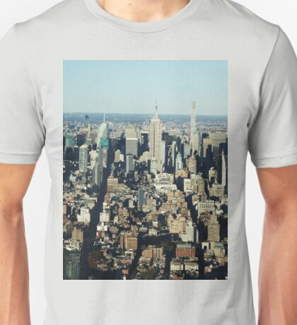 New York & Empire State Building Unisex T-Shirt