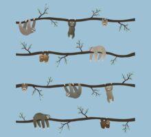 sloths Baby Tee
