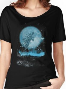 night walkers Women's Relaxed Fit T-Shirt