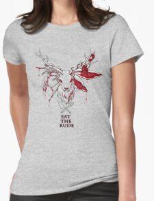 Hannibal T-shirt(Black) Womens Fitted T-Shirt
