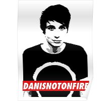 Danisnotonfire Poster Style Poster