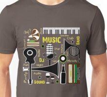 Music Club Fun Unisex T-Shirt