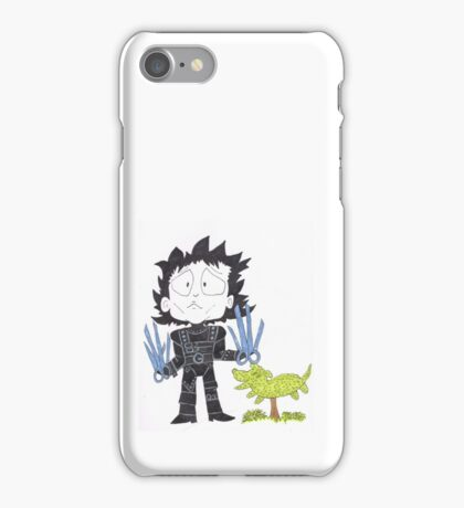 Scissor hands iPhone Case/Skin
