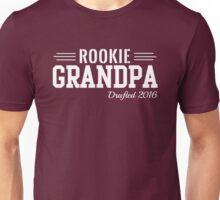 Rookie Grandpa. Drafted 2016 Unisex T-Shirt