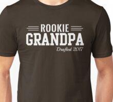 Rookie Grandpa. Drafted 2017 Unisex T-Shirt