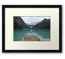Still times at Lake Louise  Framed Print