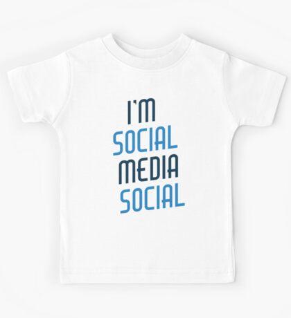 I'm Social Media Social Kids Tee