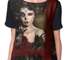 Darkside Sugar Doll Chiffon Top