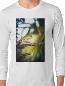 The bird is the word I Long Sleeve T-Shirt