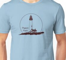 Pigeon Point Lighthouse in the San Francisco Bay Area Unisex T-Shirt