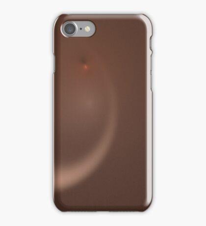 Fractal 37 Orange Flair iPhone Case/Skin