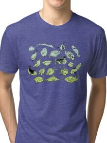 Funny fish Tri-blend T-Shirt