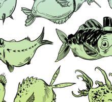 Funny fish Sticker