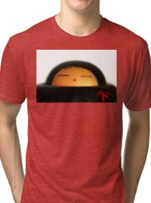 Japanese Doll Tri-blend T-Shirt