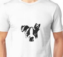 Boston Terrier Black and White What? - For Dog Lovers Puppy Unisex T-Shirt