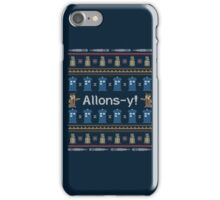 Allons-y, It's Christmas! iPhone Case/Skin