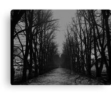 The Shortcut Canvas Print