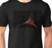 Fractal 39 Red Unisex T-Shirt