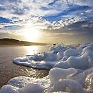 Sun and Foam by Steve Giddings