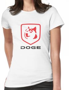 DOGE RAM Womens Fitted T-Shirt